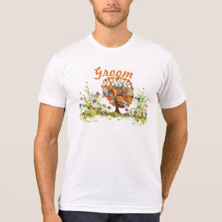 Boda encantado de la rama lateral del bosque camiseta