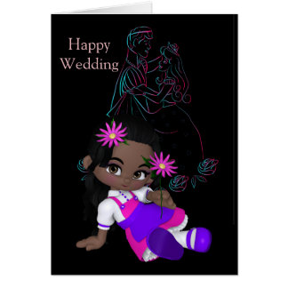 Boda feliz - tarjetas de felicitación del sentir