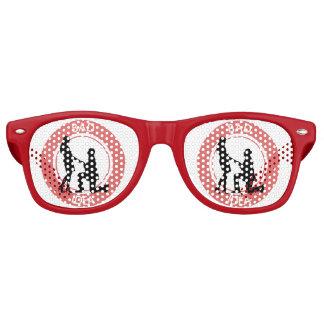 Boda, funcionamiento lejos de éste gafas de fiesta retro