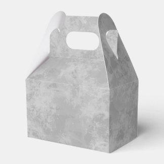 Boda gris del fiesta del cepillo de la acuarela caja de regalos