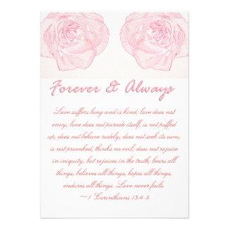Boda para siempre y siempre color de rosa de la es