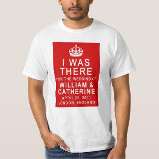 Boda real ESTABA ALLÍ las camisetas