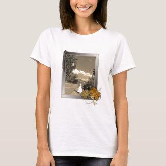 boda romántico del steampunk del autum de la caída camiseta