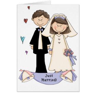 boda tarjeta de felicitación