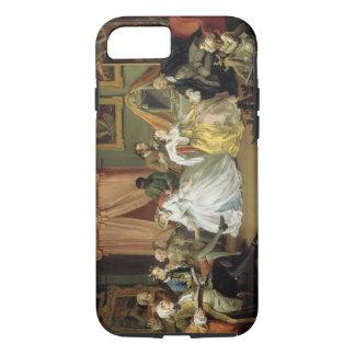 Boda un modo del la: IV, el Toilette, c.1743 Funda iPhone 7