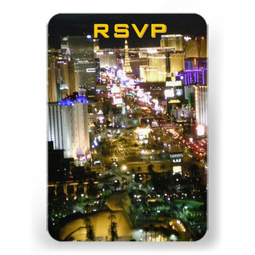 Bodas de RSVP Las Vegas Comunicados Personales