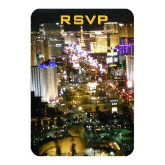 Bodas de RSVP Las Vegas Invitación 8,9 X 12,7 Cm