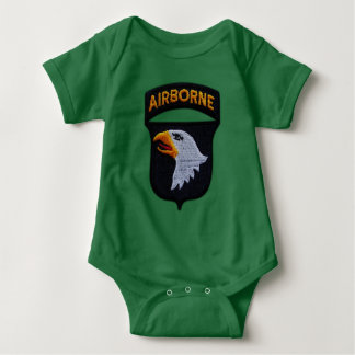 Body Para Bebé 101o División aerotransportada de ABN que grita a