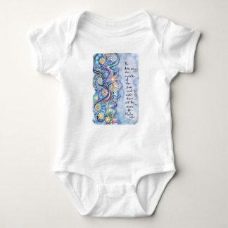 Body Para Bebé 147:4 del salmo él llama el sistema del bebé de