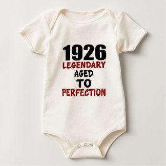 BODY PARA BEBÉ 1926 LEGENDARIOS ENVEJECIDOS A LA PERFECCIÓN