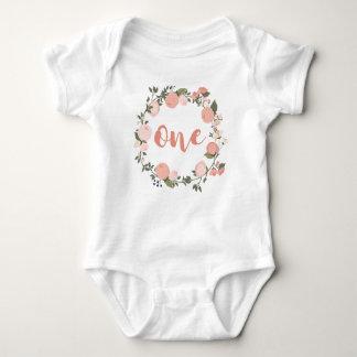 Body Para Bebé 1r cumpleaños para la niña