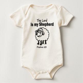 Body Para Bebé 23ro El salmo embroma el mono