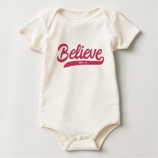 Body Para Bebé 5:36 de la marca del verso de la biblia en