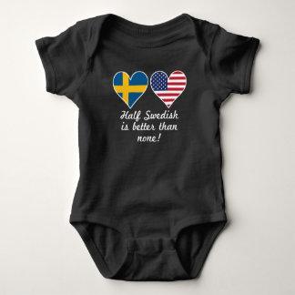 Body Para Bebé A medias sueco es mejor que ninguno