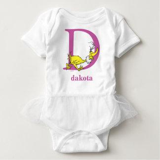 Body Para Bebé ABC del Dr. Seuss: Letra D - La púrpura el   añade