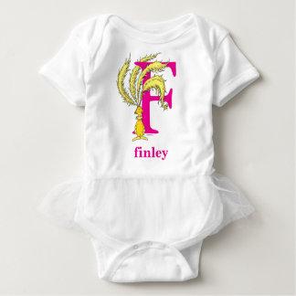Body Para Bebé ABC del Dr. Seuss: Letra F - El rosa el | añade su