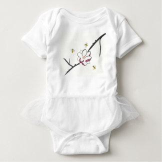 Body Para Bebé Abejas de la magnolia y de la miel