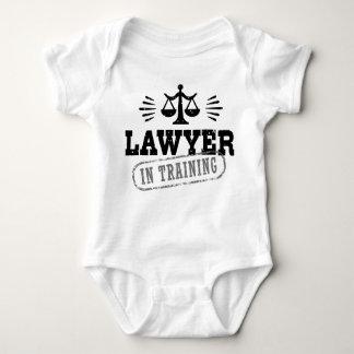 Body Para Bebé Abogado en el entrenamiento