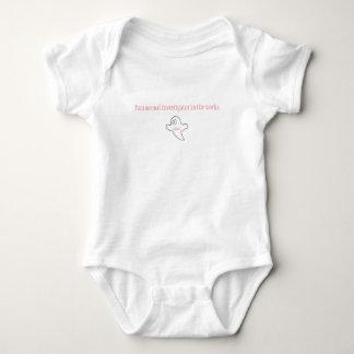 Body Para Bebé Abucheo de Lil un nuevo investigador paranormal