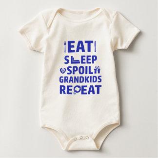 Body Para Bebé Abuelo y abuela