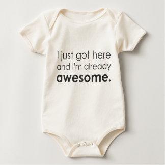 Body Para Bebé Acabo de conseguir aquí y soy ya impresionante