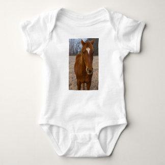 Body Para Bebé Actitud del caballo