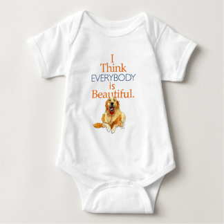 Body Para Bebé Acuarela del perro del golden retriever cada uno
