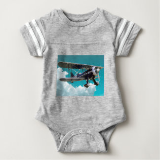 Body Para Bebé Aeroplano viejo