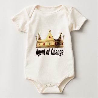 Body Para Bebé Agente del cambio