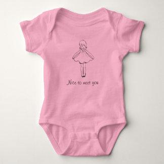 Body Para Bebé Agradable encontrarle