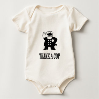 Body Para Bebé agradezca un poli