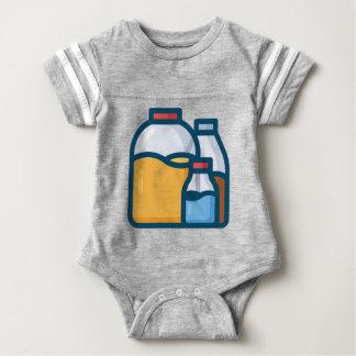 Body Para Bebé Agua del jugo de la soda