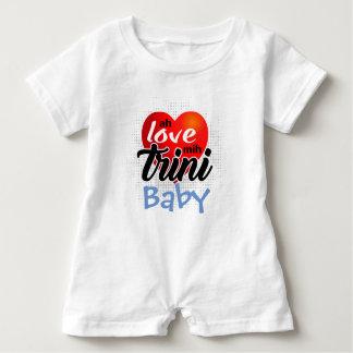 Body Para Bebé ¡Ah mih Trini (su texto) del amor! 4 lite