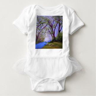 Body Para Bebé Al lado de las aguas inmóviles