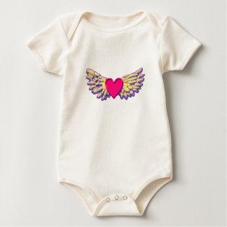 Body Para Bebé alas del corazón