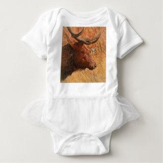 Body Para Bebé Alces de Bull
