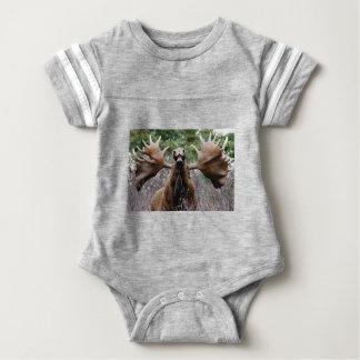 Body Para Bebé alces extraños del toro