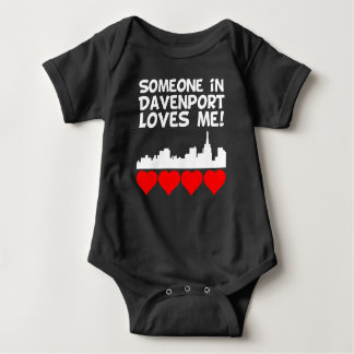 Body Para Bebé Alguien en Davenport Iowa me ama