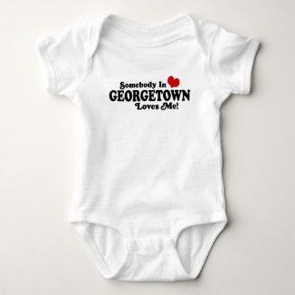 Body Para Bebé Alguien en Georgetown Washington me ama