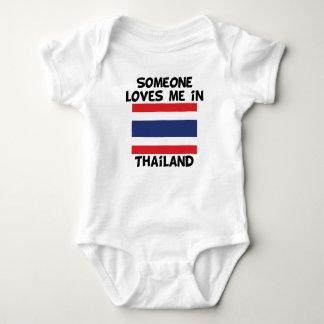 Body Para Bebé Alguien en Tailandia me ama