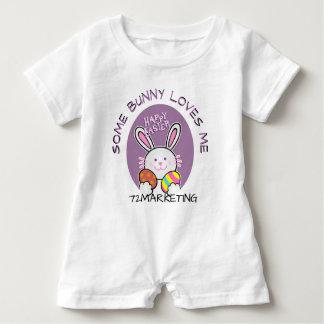 Body Para Bebé Algún conejito me ama equipo del conejito de