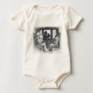 Body Para Bebé Alicia en el tren