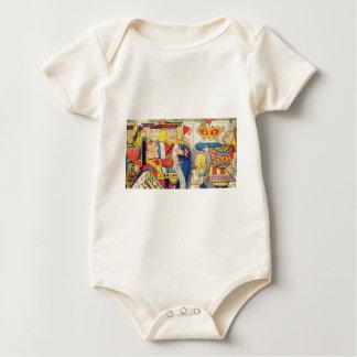 Body Para Bebé Alicia y la reina de corazones