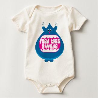 Body Para Bebé Alimente a este sueco la enredadera orgánica