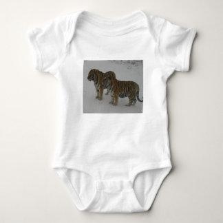 Body Para Bebé Alquileres dos tigres siberianos