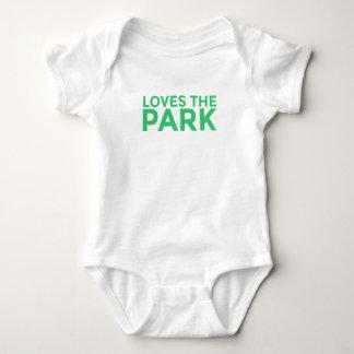 Body Para Bebé Ama el mono del bebé del parque