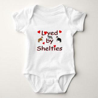 Body Para Bebé Amado por los shelties