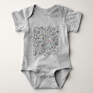 Body Para Bebé Amante de los efectos de escritorio