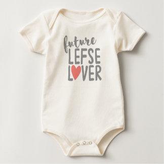 Body Para Bebé Amante futuro de Lefse