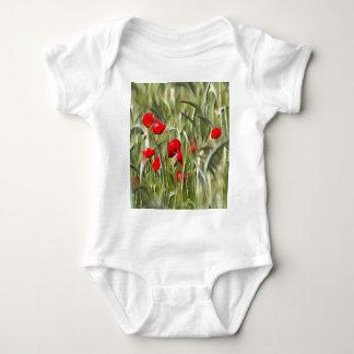 Body Para Bebé Amapolas de maíz